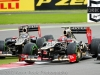 Lotus's Raikkonen and Grosjean