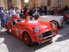 Charles Kirby owned TR3 from 1956, Charles also entered a mighty Jenson Interceptor 3