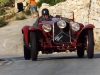 This 1933 Alfa 6C ran with the Bugattis all day, the driver a Le D Malet looks serious