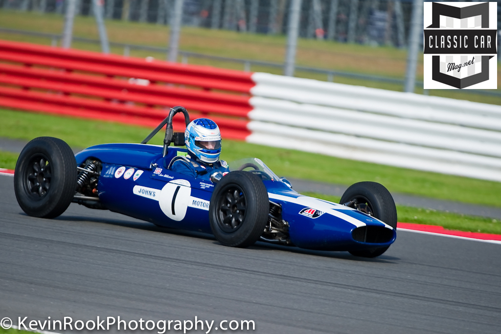 2012 Silverstone Classic, Cooper T56, Jon Milicevic