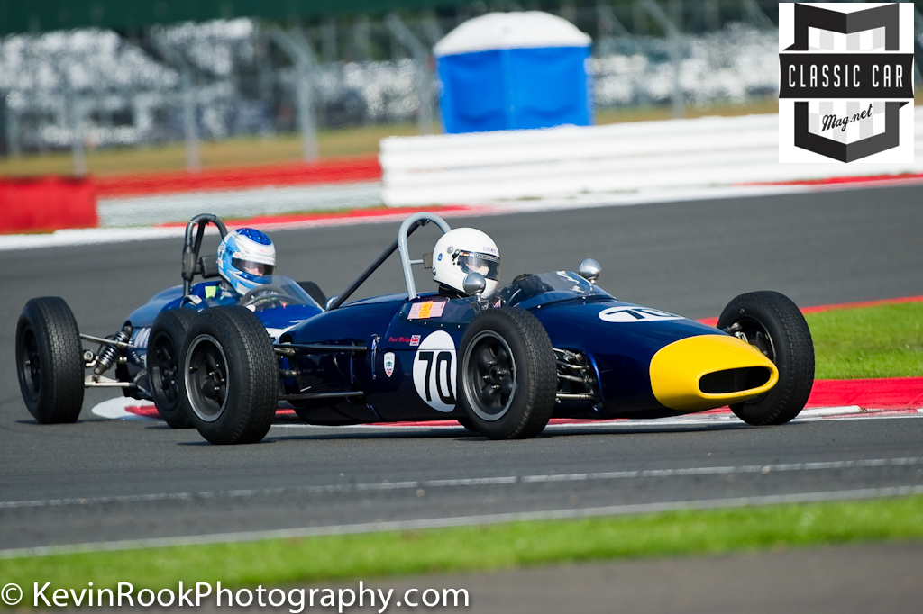 2012 Silverstone Classic, Brabham BT6, David Methley, Historic Formula Junior