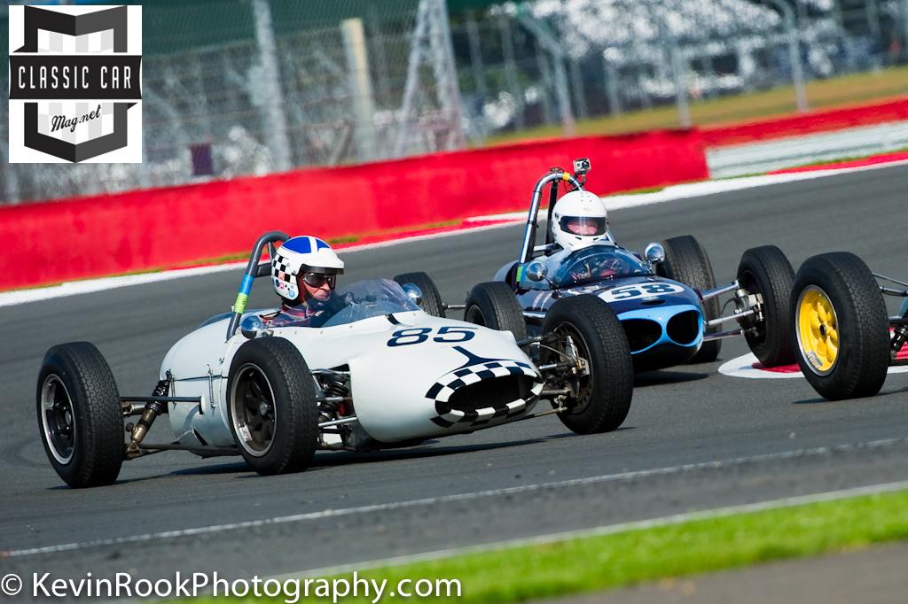 1961 Gemini Mk3A, 1963 Wainer., 2012 Silverstone Classic, John Chisholm, Richard Smeeton