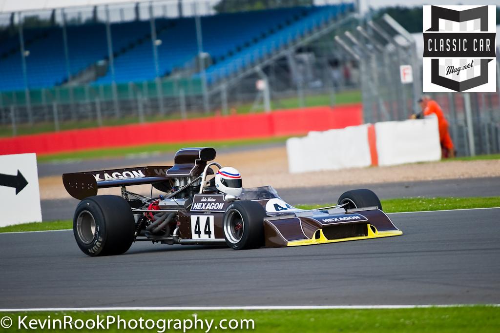 2012 Silverstone Classic, F2 & F5000, Peter Gethin Trophy, Simon HADFIELD, Trojan T101