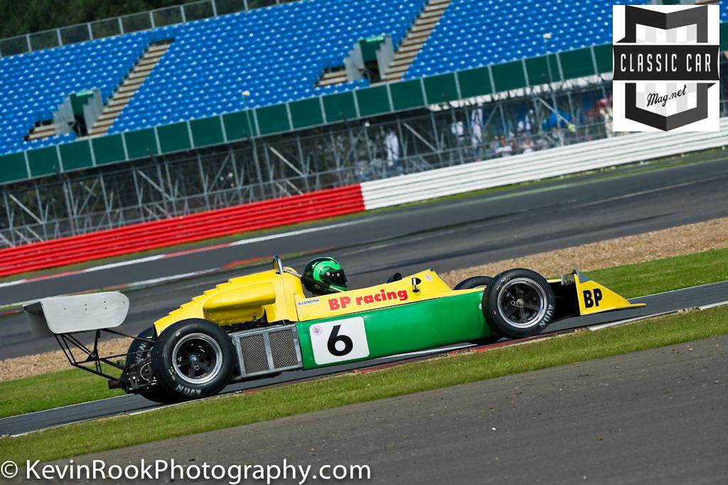2012 Silverstone Classic, March 742, Martin STRETTON