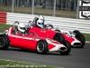 1959 Gemini Mk2 (Richard Ellingworth - 34) and a 1959 Elva 100 (Justin Fleming - 22), 1960 Lola Mk2 (Simon Goodliff -15), 2012 Silverstone Classic