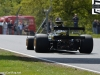 Chris Locke in a Lotus 79 at top of paddock in the F1 Masters
