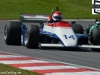 Simon Fish in a Ensign 180 in the F1 Masters