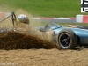 Jonathan Hughes in a Brabham BT6 at the gravel trap - went on to finish 2nd in the Larani Trophy