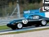 John Person during qualifying for the E-Type Challenge approaching Coppice