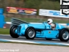 Josef Rettenmaier in the Maserati V8R1 during qualifying (at Mclean's)