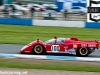 Paul Knapfield accelerates his Ferrari 512m out of Redgate during qualifying