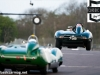 Qualifying session for the E-Type Challenge at the start of The Donington Historic Festival 2013