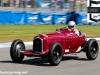Stephan Rettenmaier in a Alfa Remeo P3 during the HGPCA Nuvolari Trophy race.