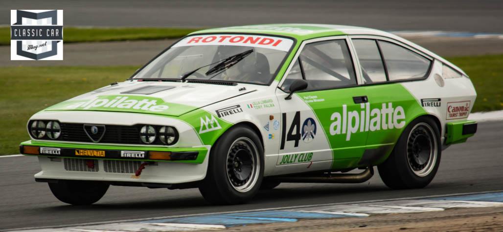 #14 P.Clayson - 1981 Alfa Romeo GTV6 - Historic Touring cars