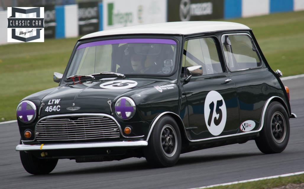 #15 G.Churchall & P.Baldwin - 1965 Austin Mini Cooper S - Pre 66 under 2L Touring Cars