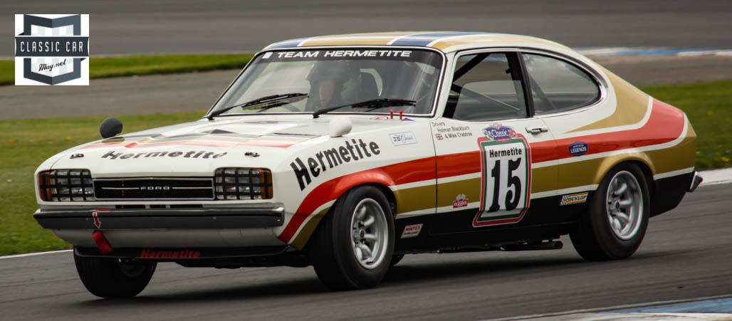 #15 J.Spiers & M.Murry - 1977 Ford Capri 3.0 - Historic Touring cars