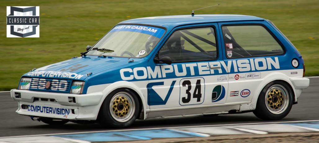 #34 P.Watts - 1984 MG Metro Turbo - Historic Touring cars