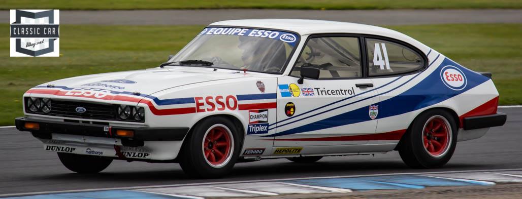 #41 G.Pochciol & J.Hanson - 1979 Ford Capri 3.0 - Historic Touring cars