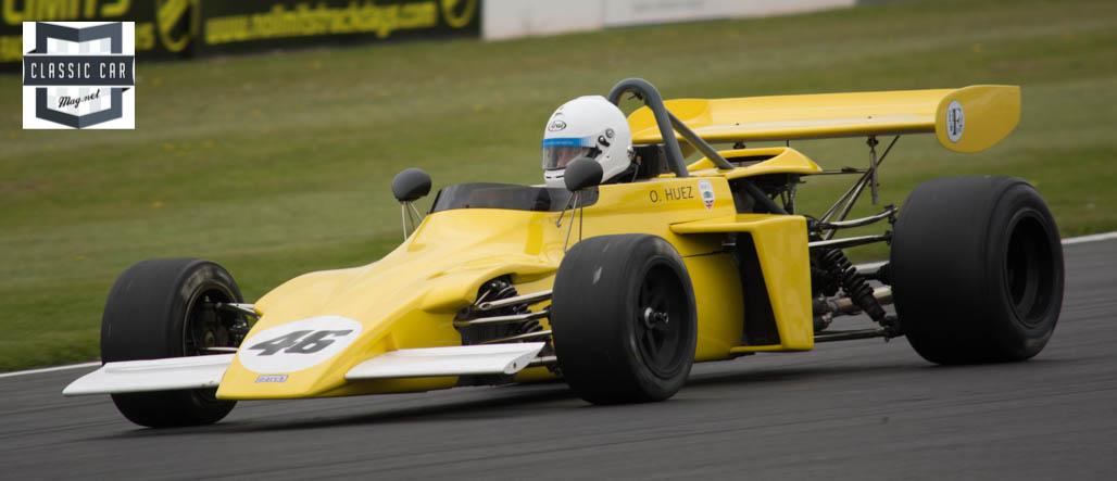 #46 O.Huez - 1972 March 722 - Historic Formula 2