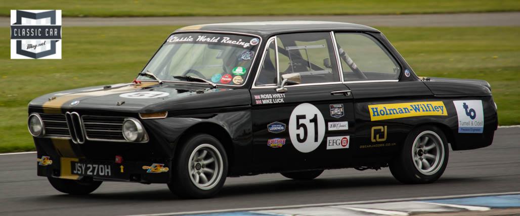 #51 J.Hawksworth - 1970 BMW 2002Ti - Historic Touring cars