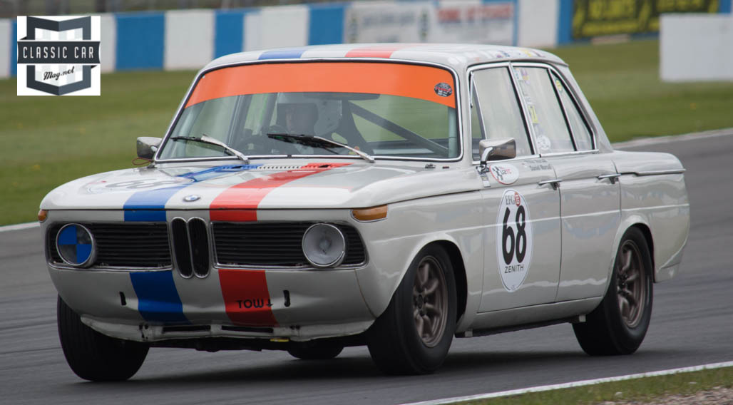 #68 D Mursall - 1965 BMW 1800i - Pre 66 under 2L Touring Cars