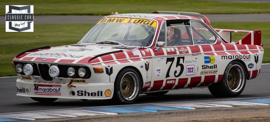 #75 E.Mestdagh - 1971 BMW 3.0 CSL - Historic Touring cars