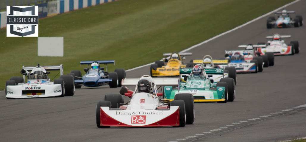 First Corner Entry - Historic Formula 2