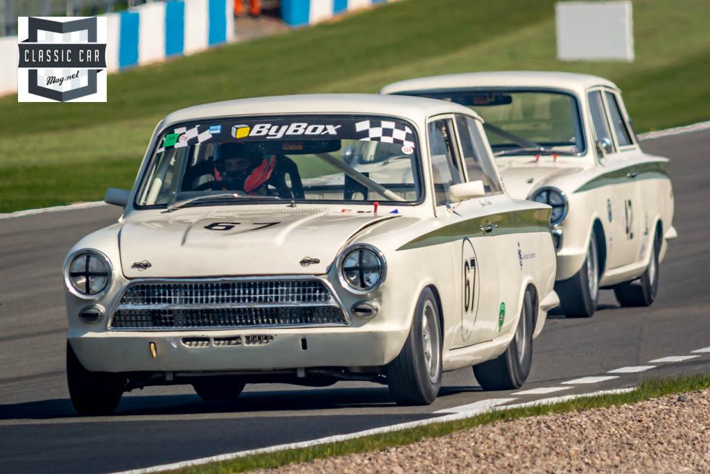 J.Clarke - 1963 Ford Lotus Cortina - Historic Touring Cars