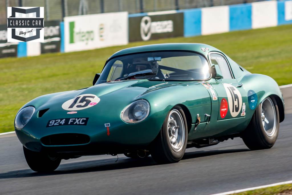 P.Castaldini - 1962 Jaguar E Type - Guards Trophy