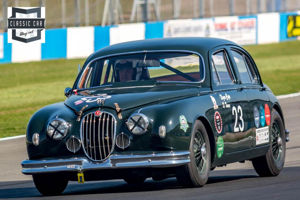 R.Cope - 1958 Jaguar Mk1 - Historic Touring Cars