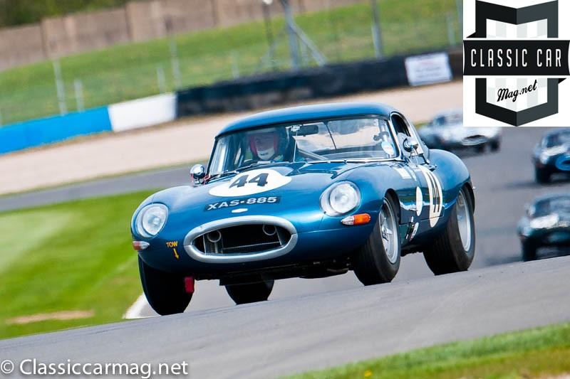 1963 Jaguar E-Type, Conor O'Brien, John Bussel - E-Type Challenge