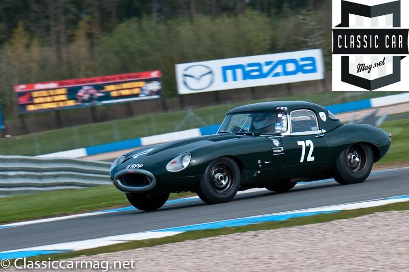 1964 Jaguar E-Type, Jamie Boot - E-Type Challenge