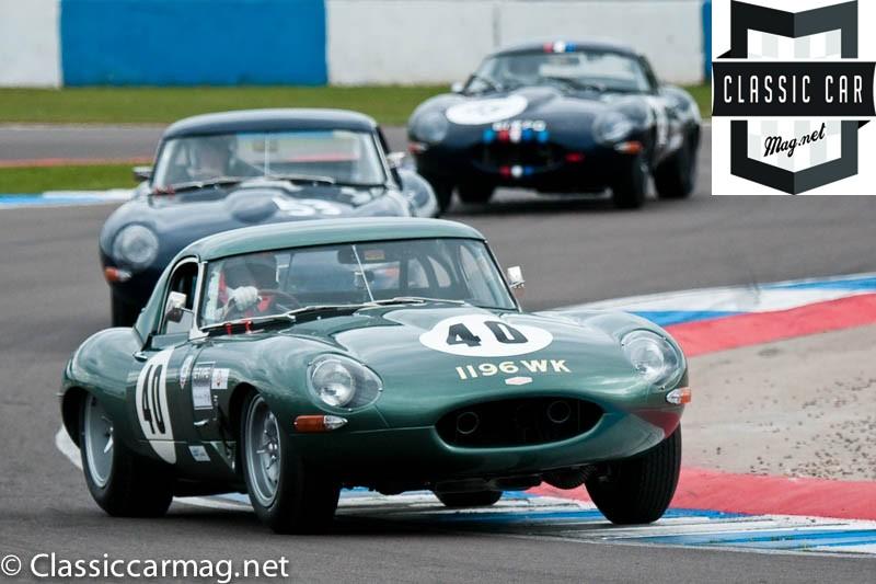 1962 Jaguar E-Type, Alex Buncombe - E-Type Challenge