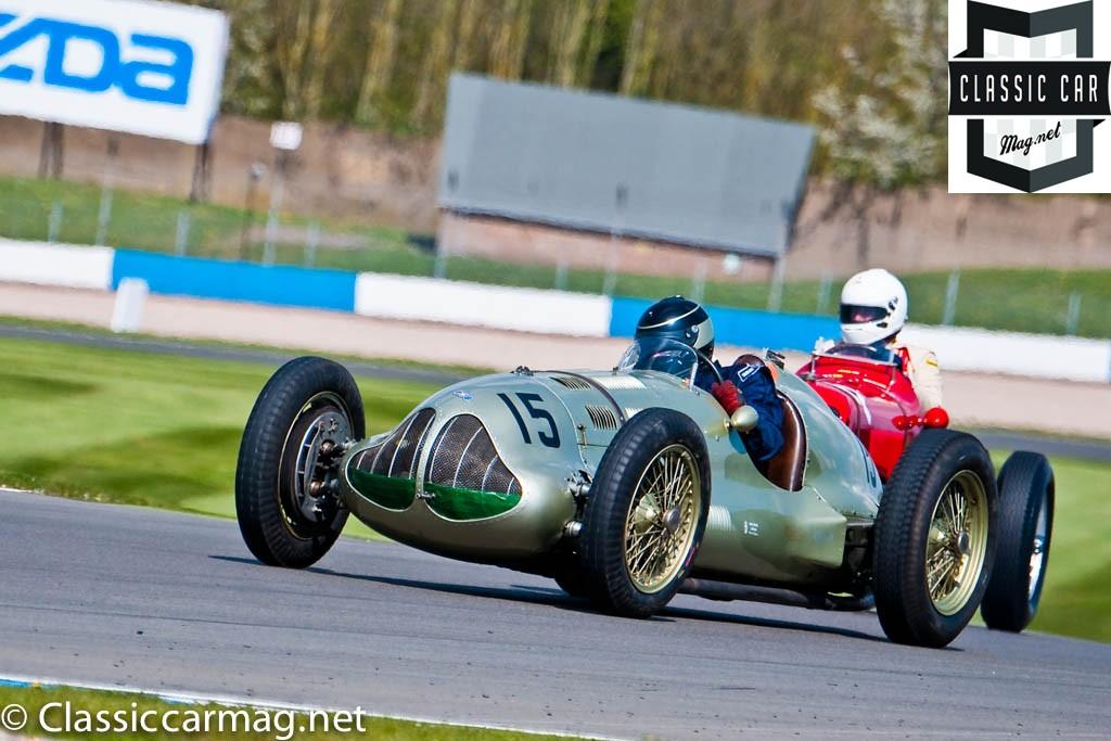 1938 ERA GP1, Duncan Ricketts, HGPCA Nuvolari Trophy Pre-1940 Grand Prix Cars