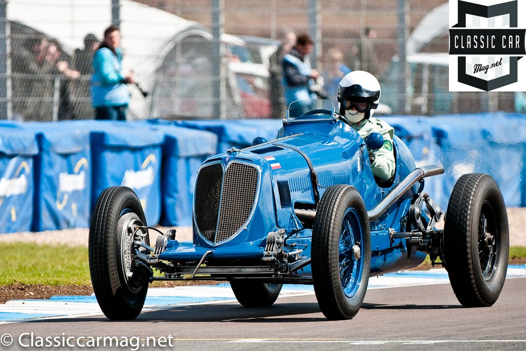 1934 Maserati 8CM, Robert Newall, HGPCA Nuvolari Trophy Pre-1940 Grand Prix Cars