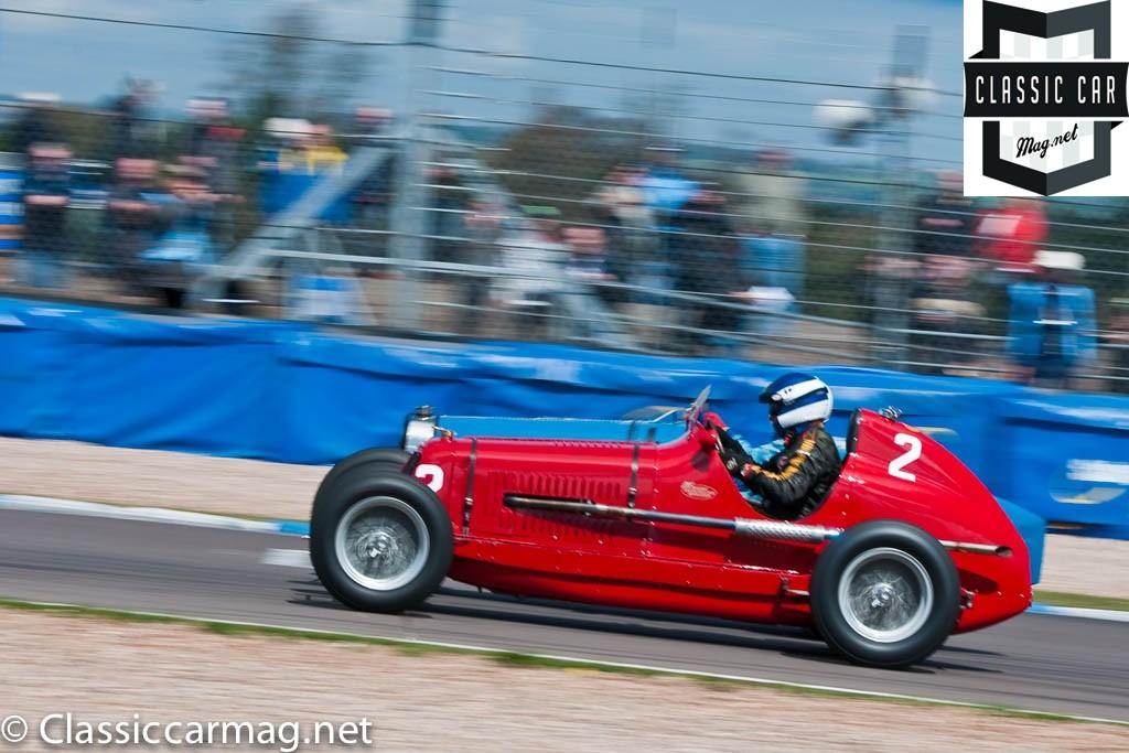 1935 Maserati 4CM, Simon Edwards, HGPCA Nuvolari Trophy Pre-1940 Grand Prix Cars