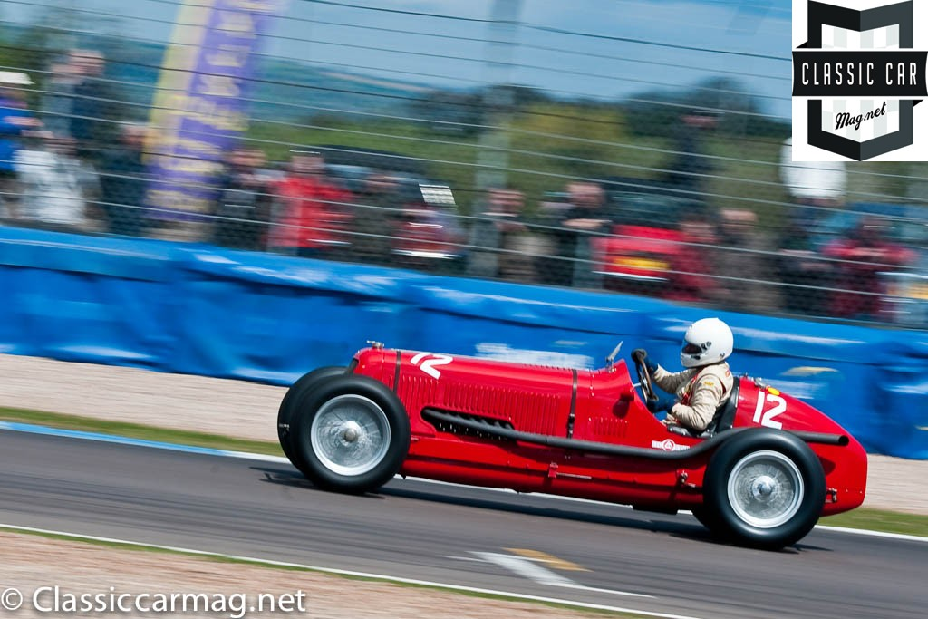 1934 Maserati 8CM, Sean Danaher, HGPCA Nuvolari Trophy Pre-1940 Grand Prix Cars
