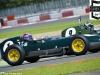 Roger WILLS (car 9) and Philip WALKER (car 1) in Lotus 16s