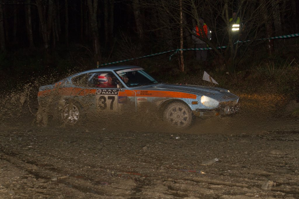 Datsun 240Z at the RAC Rally