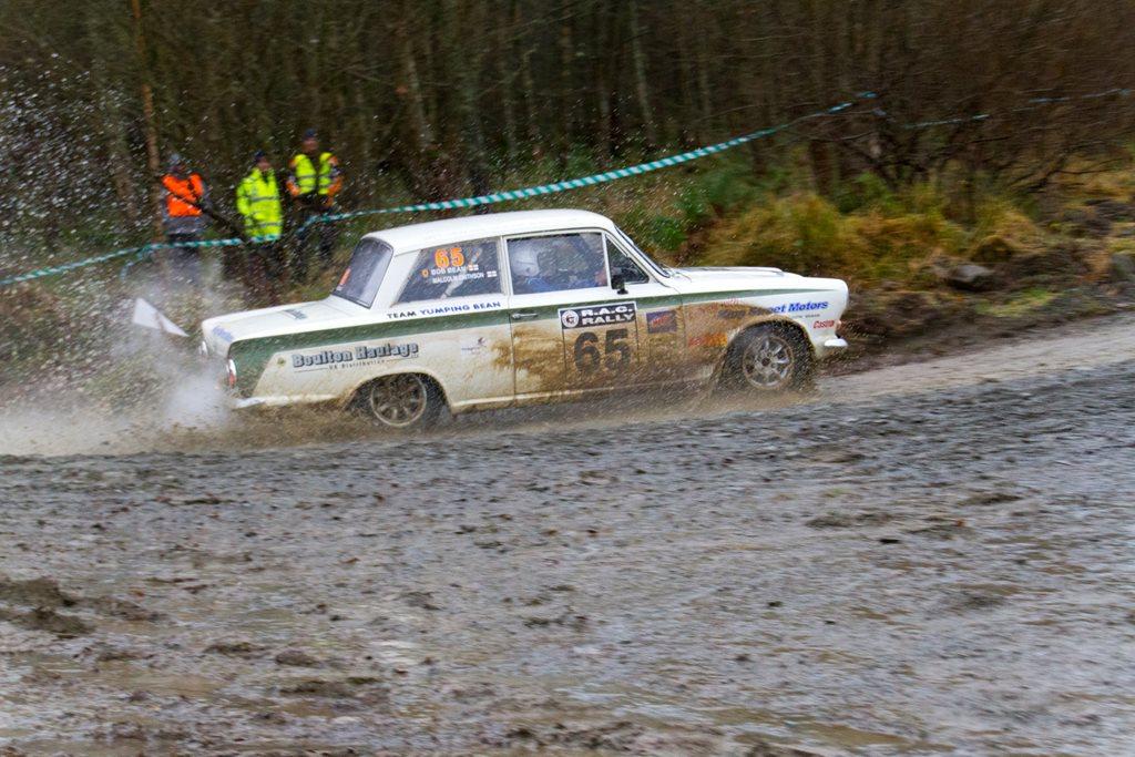 Ford Cortina at the RAC Rally