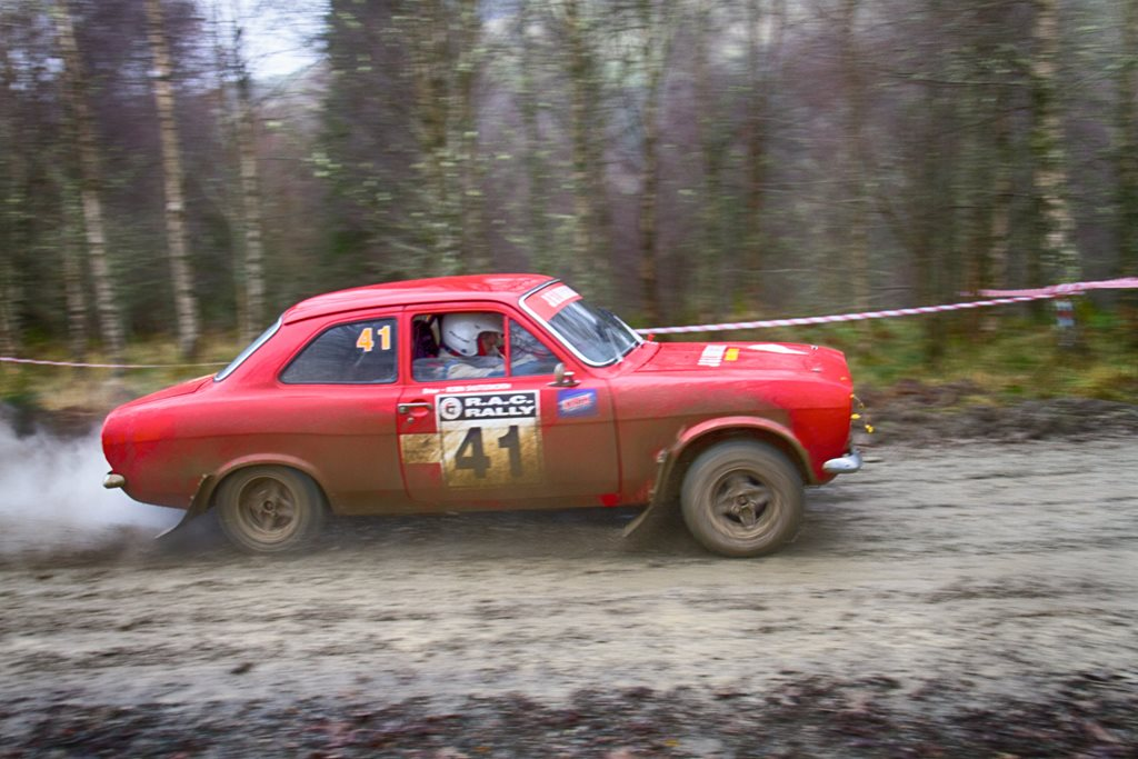 Ford Escort Mk1 Mexico at the Roger Albert Clark Rally 2012 - Stage 19