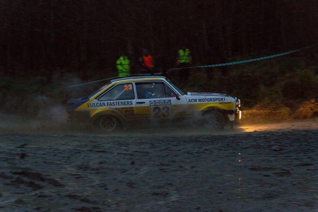 Ford Escort Mk2 at the RAC Rally