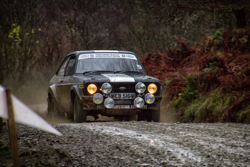 Ford Escort RS1800 at the RAC Rally
