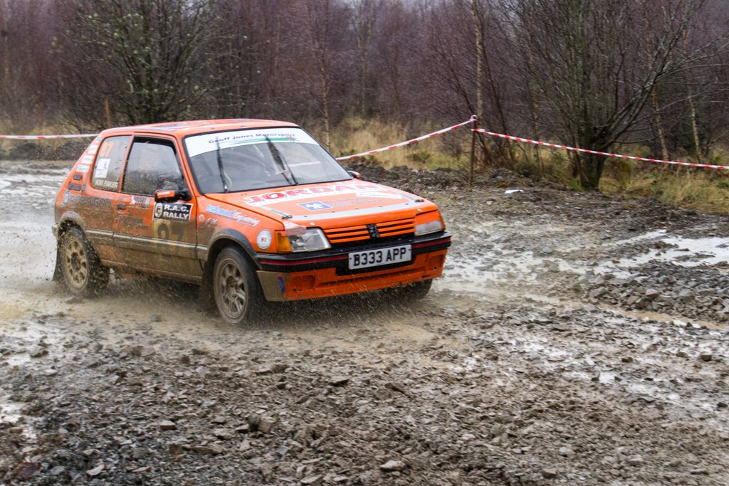 Peugeot 250 GTi at the Roger Albert Clark Rally 2012 - Stage 19