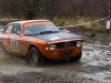 Alfa Romeo Sprint GT at the Roger Albert Clark Rally 2012 - Stage 19