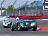 2012 Silverstone Classic, The Jaguar C type of Nigel WEBB and Anthony REID