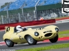 2012 Silverstone Classic, Jonathan Bailey, in his Jaguar D-type,
