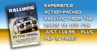 Epic rally action from the 1980s out now on DVD