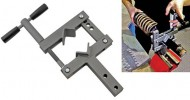 Convenient damper strut vice clamp from Laser Tools