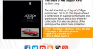 The Book of the Jaguar XJ-S – From Veloce Publishing